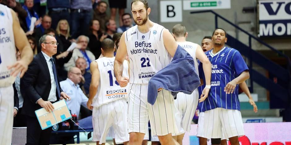 Basket /Fiba europe cup/Mons-Sodertalje