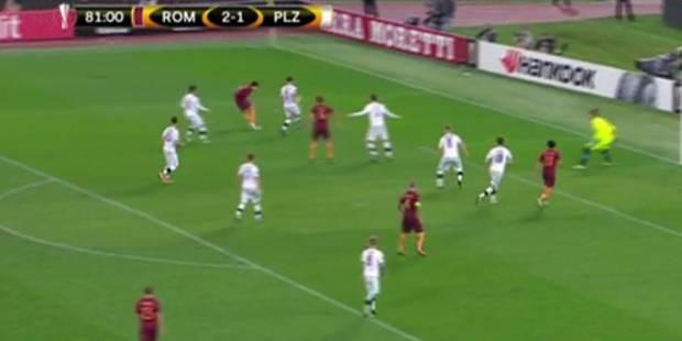 Europa League: un joueur de la Roma marque sur un coup du foulard ! (VIDEO) - La DH