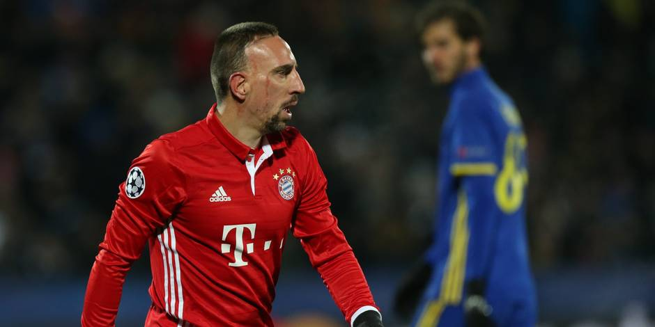 Franck Ribéry lié jusqu'en 2018 — Bayern Munich
