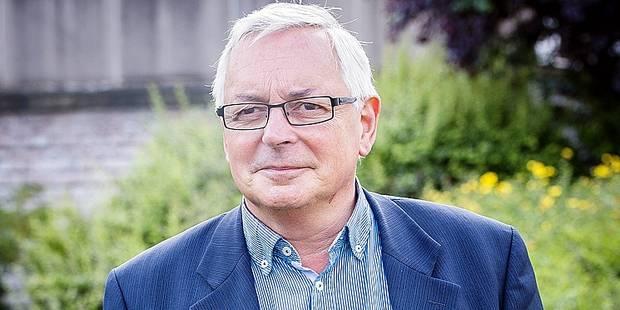 20150323 - BRUSSELS, BELGIUM: Denis Grimberghs, cdH alderman of Schaerbeek, posed for the photographer in Schaarbeek, Brussels, June 23th, 2015.
