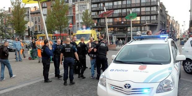 Liège : trois individus interpellés après une bagarre - La DH