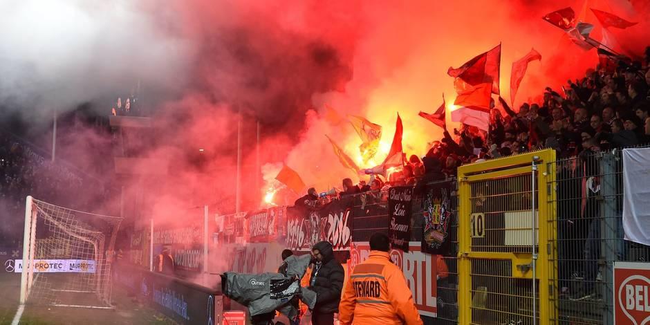 Débordements Charleroi-Standard: déjà quatre matches de D1 sans point attribué aux deux équipes