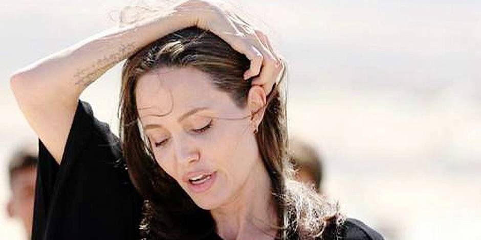 Angelina Jolie ne pèserait plus que 34 kilos!