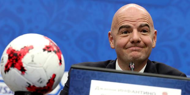 48 équipes, des groupes de 3: voici la Coupe du Monde à la sauce Infantino - La DH