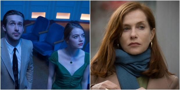 """""""La La Land"""" en tête des nominations aux Golden Globes, Isabelle Huppert nommée - La DH"""