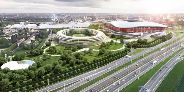 """Stade national: """"L'Eurostadium du Parking C procurera de l'emploi à 4.800 personnes"""" - La DH"""