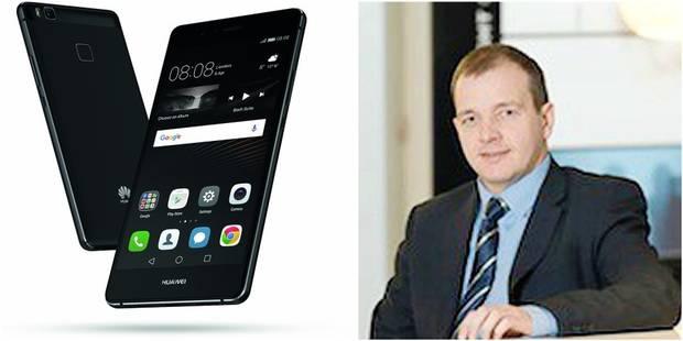 """Huawei: """"En 2017, on aura dépassé Apple"""" - La DH"""
