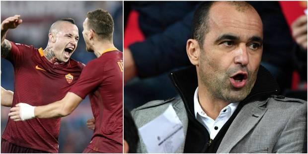"""Martinez était à Rome pour le but de Nainggolan, lundi: """"Trop tôt pour dire s'il sera dans la prochaine sélection"""" - La ..."""