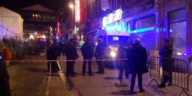Charleroi : un commerçant du marché de Noël blessé par balle - La DH