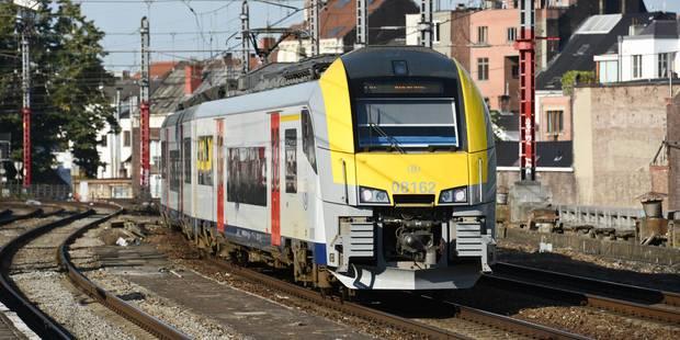Perturbations attendues lundi sur la ligne de train Bruxelles-Charleroi - La DH