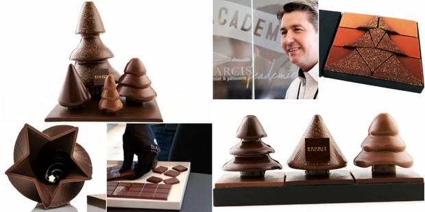Les choix de Joëlle : du chocolat et des livres gourmands pour Noël - La DH