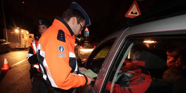Borinage: 376 personnes positives à l'alcool au volant - La DH
