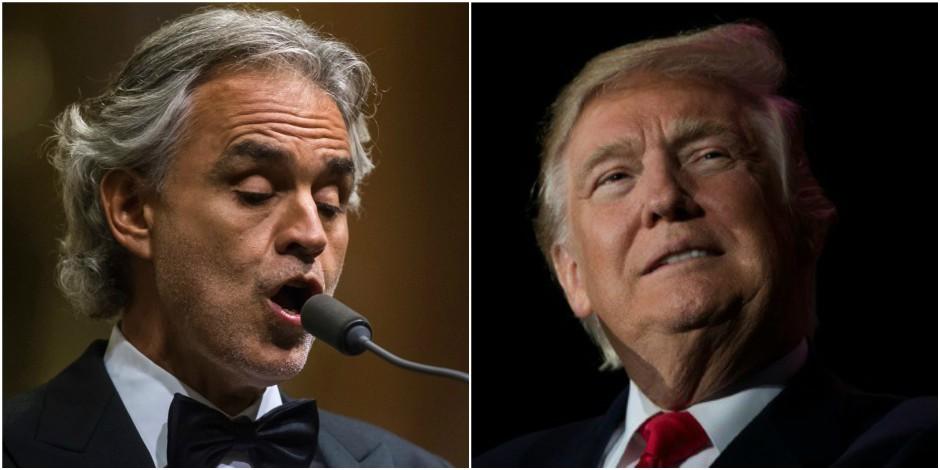 Pour quelle raison Andrea Bocelli a-t-il refusé de chanter à l'investiture de Trump ?