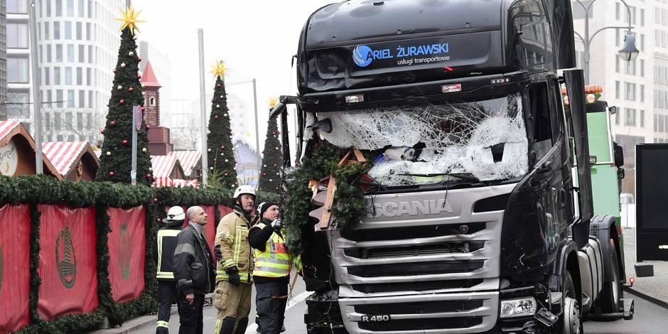 Le chauffeur aurait été blessé avant l'attentat — Berlin