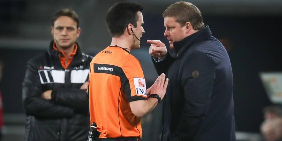 Vanhaezebrouck renvoyé aux vestiaires face à Anderlecht: la Commission des litiges traitera le dossier le 24 janvier