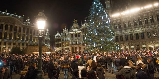 Animations, feu d'artifice: voici le programme sur le piétonnier de Bruxelles pour le réveillon du Nouvel An