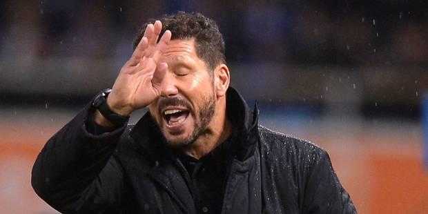 Simeone restera à l'Atlético jusqu'en 2018 - La DH