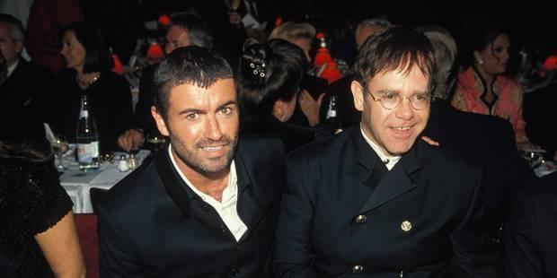 Elton John fond en larmes en dédicaçant une chanson à George Michael - La DH