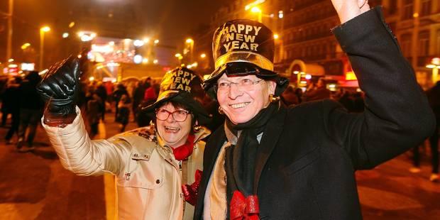 Nouvel An à Bruxelles: les touristes étrangers étaient de retour