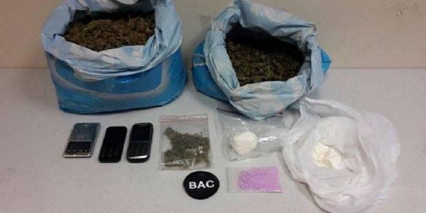 Saint-Gilles : belle saisie de drogue pour la BAC ! - La DH