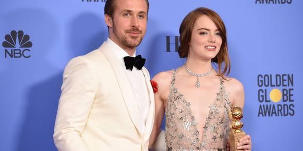 """""""La La Land"""", Isabelle Huppert et la coproduction belge """"Elle"""" triomphent aux Golden Globes - La DH"""