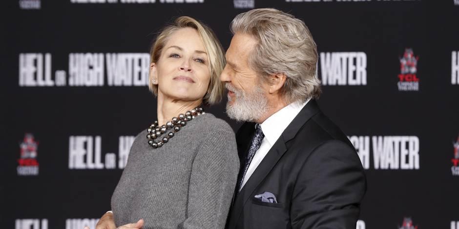 Jeff Bridges bien entouré pour laisser ses empreintes à Hollywood