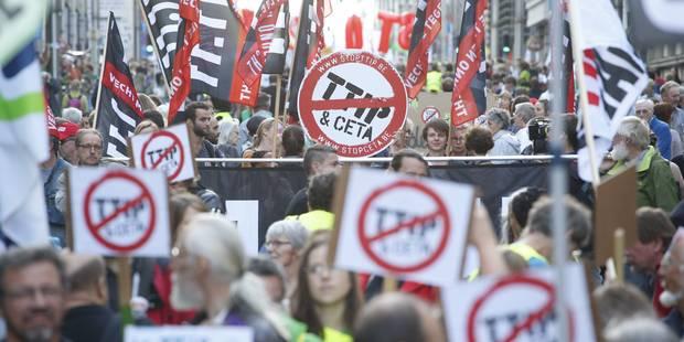 Manifestation tout public organisée contre le CETA à Bruxelles le samedi 21 janvier - La DH