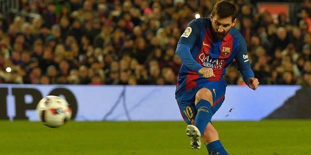Coupe du Roi: Messi, tireur d'élite, qualifie Barcelone (VIDEO) - La DH