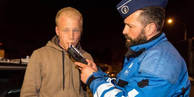 """Opération """"week-end sans alcool"""" : 1 personne sur 12 conduit sous l'effet d'alcool ou de drogue dans le Borinage - La DH"""