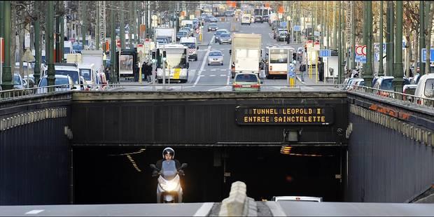Bruxelles: Un radar tronçon débarque dans le tunnel Léopold II, les amendes risquent de pleuvoir - La DH