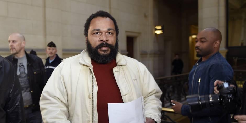 Liège : l'humoriste Dieudonné condamné à de la prison ferme