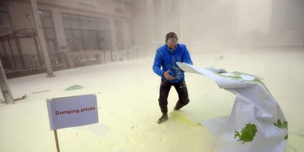 Il a neigé du lait en poudre sur Bruxelles (PHOTOS) - La DH