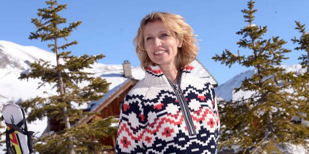 """Alexandra Lamy : """"C'est très dur de se retrouver seule à plus de 40 ans, surtout pour une femme avec enfants"""" - La DH"""
