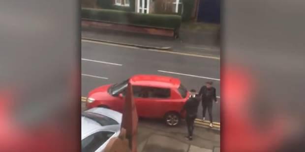 Lasse qu'un automobiliste prenne sa place de parking, cette femme décide de se venger (VIDEO) - La DH