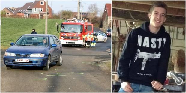 Braine-le-Comte: percuté par une voiture, Noé, 18 ans, a été tué sur le coup - La DH