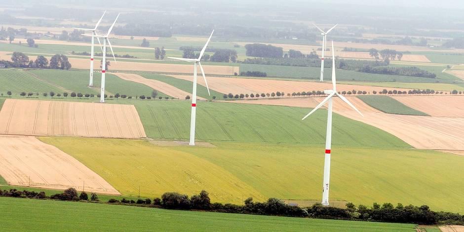 Dix éoliennes en projet en Hesbaye