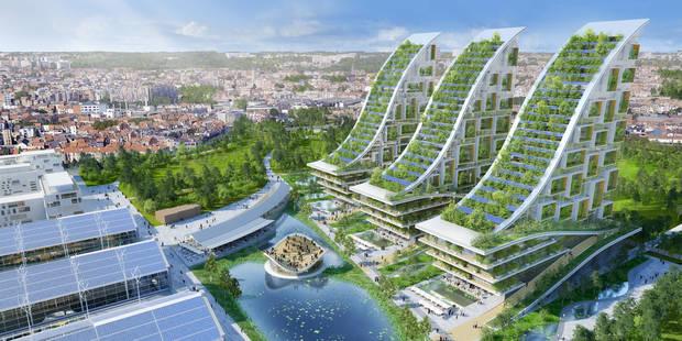L'incroyable projet de Vincent Callebaut pour Tour&Taxis