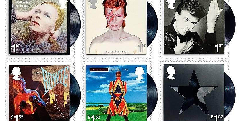 David Bowie bientôt timbré… sur vos lettres