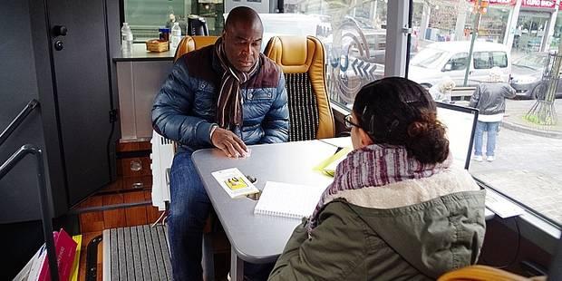 Bruxelles-Ville: Le bus de l'emploi démarre sa tournée - La DH