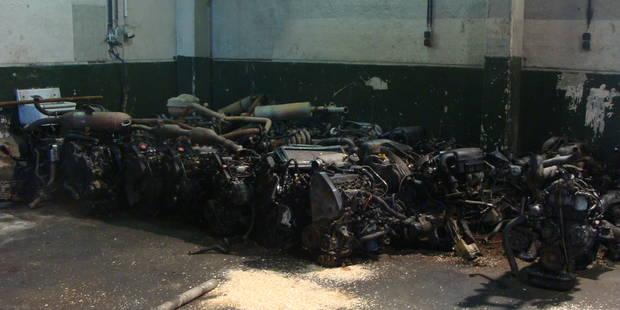 Mons: Trafic international de bolides volés démantelé - La DH