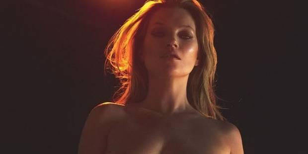Kate Moss nue et en formes en cover du magazine W ! - La DH