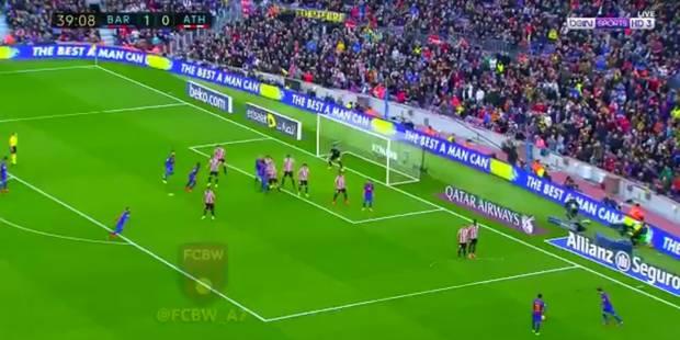 Messi s'offre un nouveau but improbable... avec la complicité du gardien ! (VIDEO) - La DH