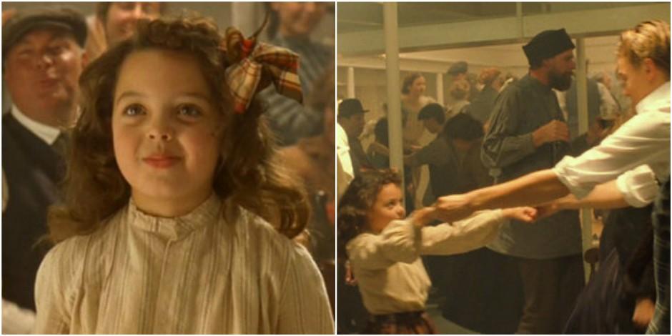 Qu'est devenue la petite fille qui danse avec Leo DiCaprio dans Titanic ?
