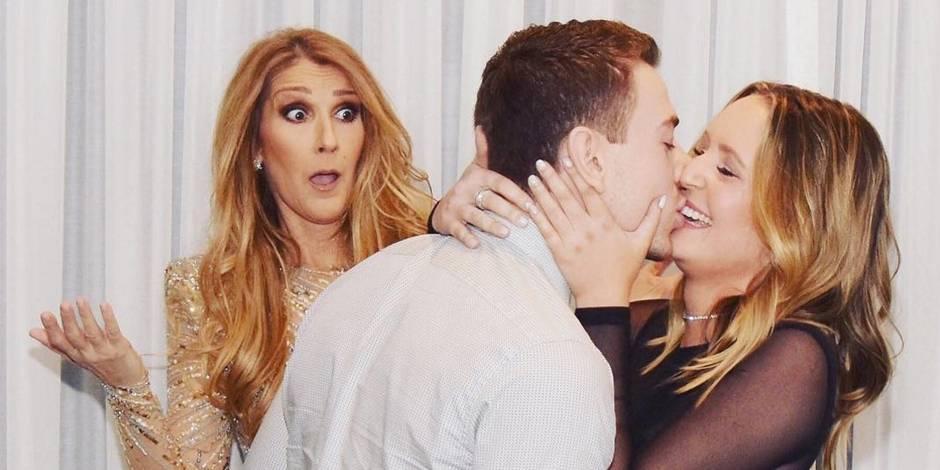 L'incroyable photobombing de Céline Dion lors d'une demande en mariage