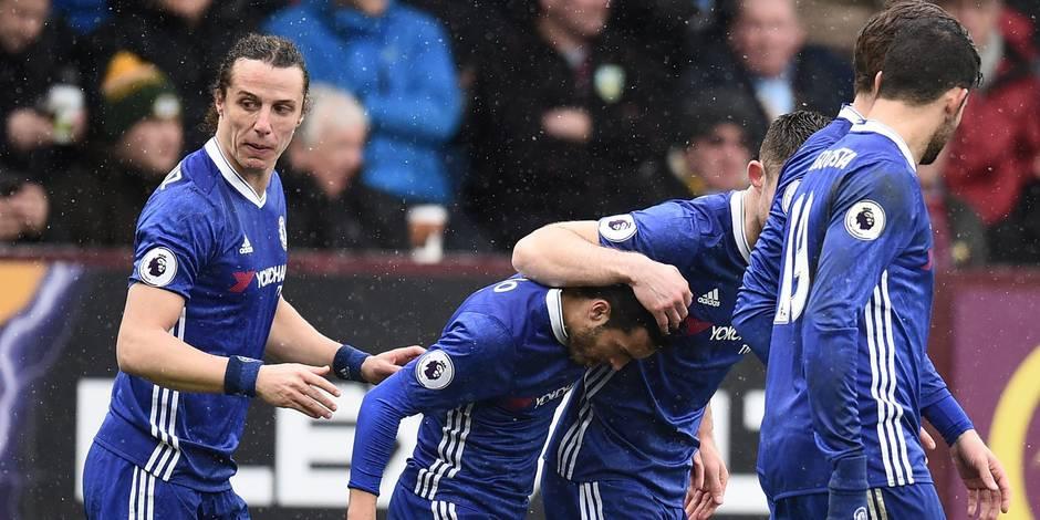 Burnley freine la marche en avant de Chelsea