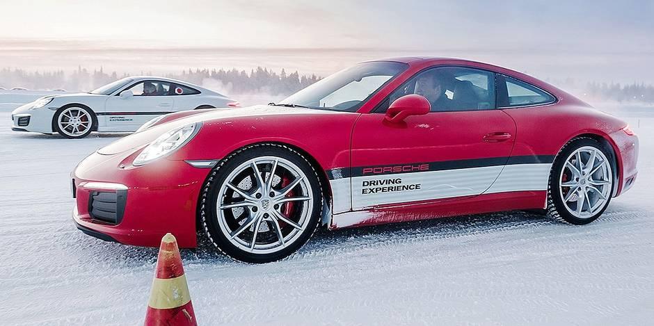 Le boom des stages automobiles sur glace - La DH