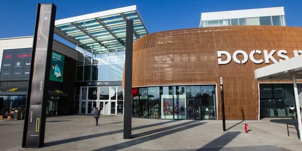 Le centre commercial Docks Bruxsel a dépassé le cap des 2 millions de visiteurs - La DH