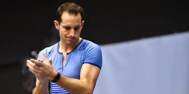 Salle: saison terminée pour Renaud Lavillenie - La DH