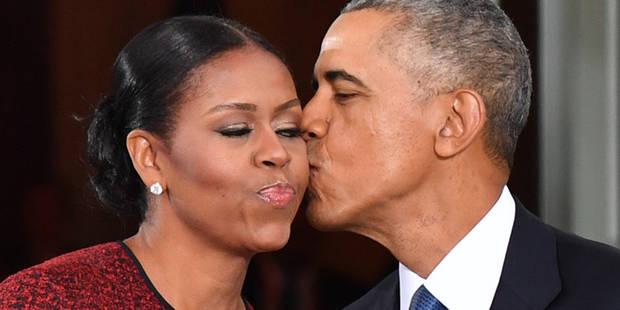 Michelle et Barack Obama se twittent des mots d'amour - La DH