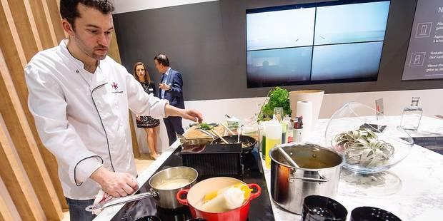 Batibouw: du gadget au futur incontournable, voici les nouvelles tendances en cuisine (PHOTOS + VIDEO) - La DH